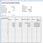 template topic preview image Loan Amortization Schedule in Excel Template