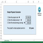 template topic preview image Simple Payback Calculator