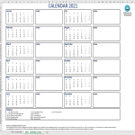 template topic preview image Calendar 2021 Excel