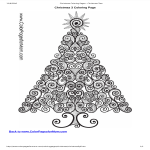 template topic preview image Christmas Coloring Page For Adults