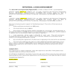 template topic preview image Simple Internal Loan Agreement