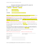 template topic preview image General Joint Power Of Attorney Form