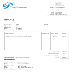 template topic preview image Bakery Invoice Word