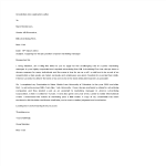 template topic preview image Unsolicited Job Application Letter