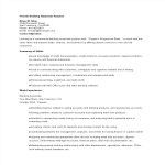 template topic preview image Private Banking Associate Resume