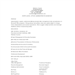 template topic preview image Entry Level Office Administration Resume