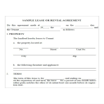 template topic preview image Rental Agreement For Business Lease