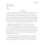 template topic preview image Literary Analysis Essay