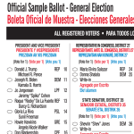 template topic preview image USA Official Ballot Presidential Elections 2020