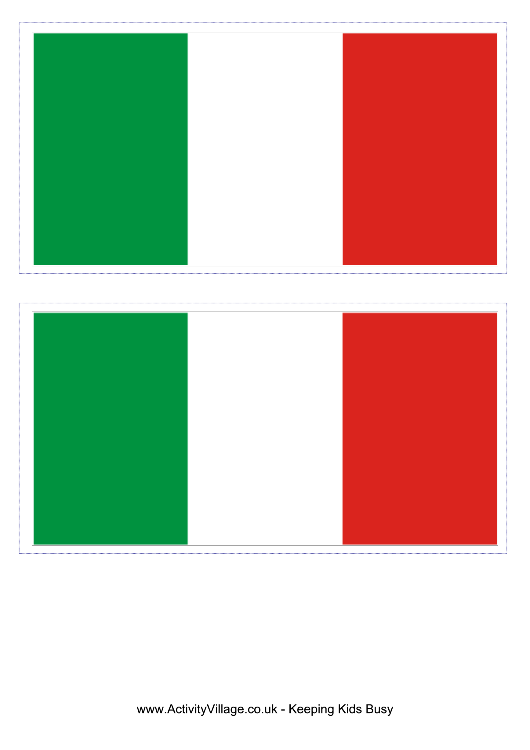 template preview imageItaly Flag