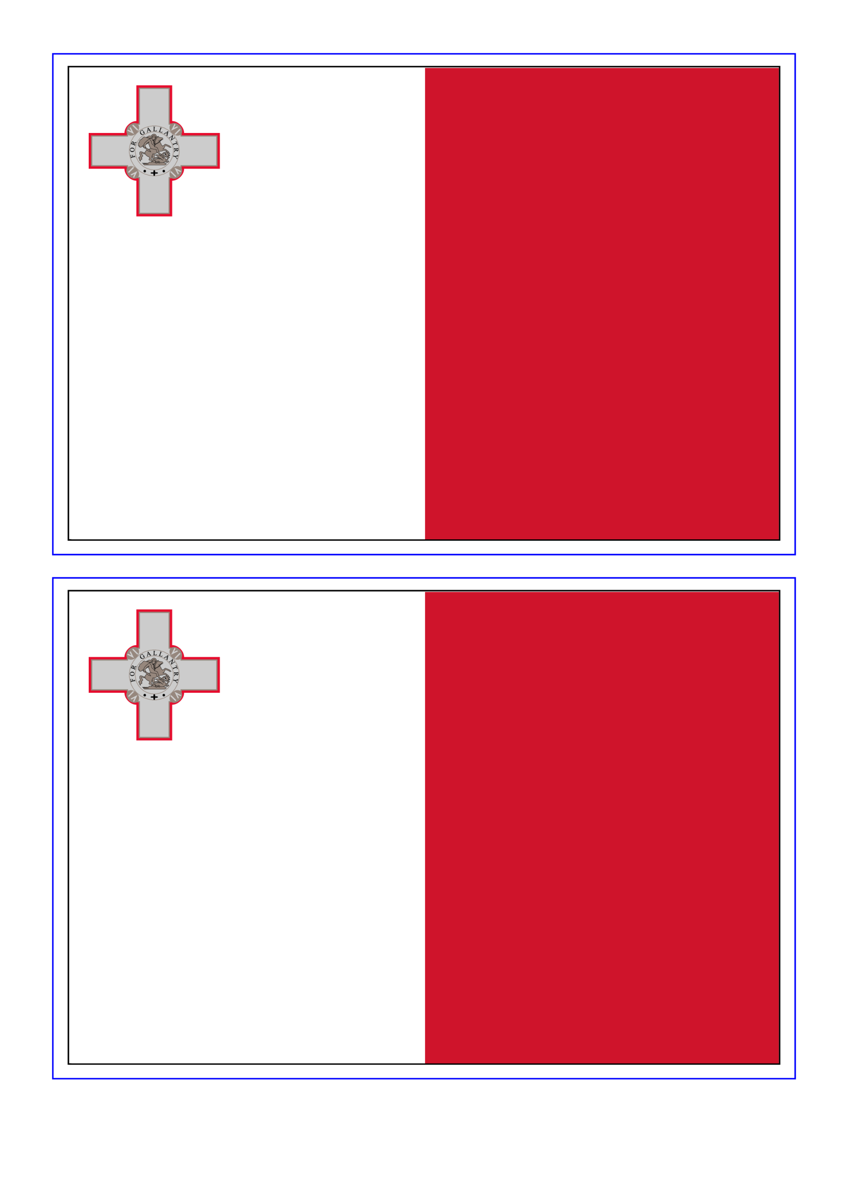 template preview imageMalta Flag