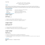 template topic preview image Computer Engineering Student Resume