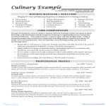 template topic preview image Catering Cook Sample