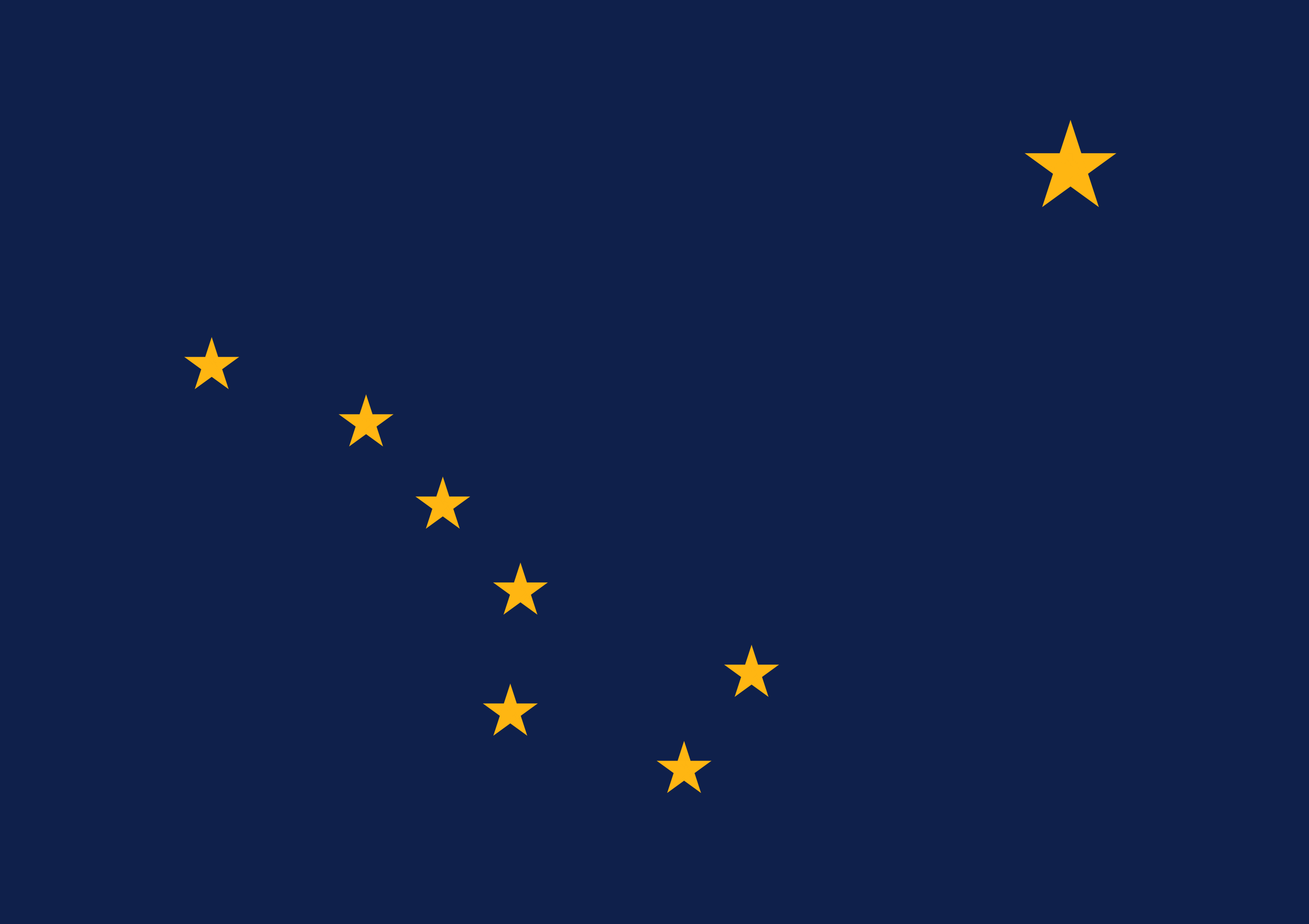 template topic preview image Alaska flag printable