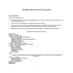 template preview imageDesign Research Proposal