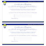template topic preview image Certificate of Baptism Catholic