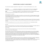 image Advertiser & Agency Agreement