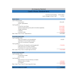 template topic preview image cash flow statement sample