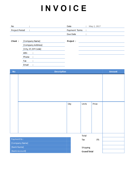 template topic preview image Consultant Invoice