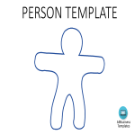 template preview imagePerson Template A4 Landscape