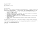 template topic preview image Job Application Letter For Senior Executive