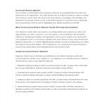 template topic preview image Sample Senior Accountant Resume Objective