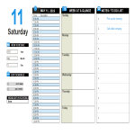 template topic preview image Advanced Daily planner Excel template