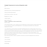 template topic preview image Employment Contract Rejection Letter
