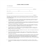 template topic preview image Blank General Power of Attorney Form