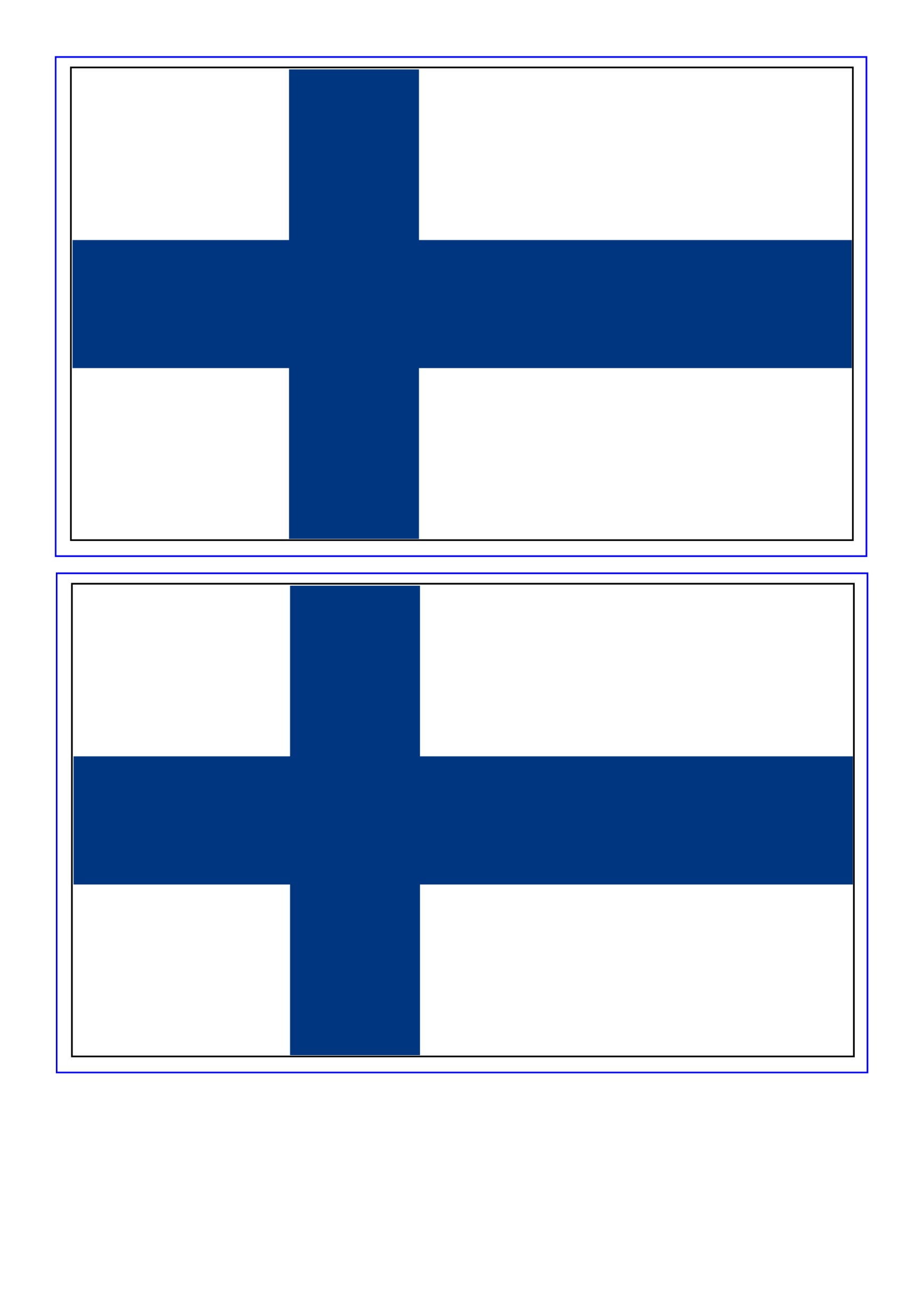 template preview imageFinland Flag