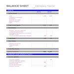 template topic preview image Balance Sheet Accounting Template