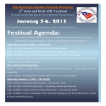template topic preview image Sample Festival Agenda