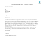 template topic preview image Sales Letter Business Broker