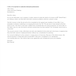 template topic preview image Complaint Letter To Contractor Job Performance