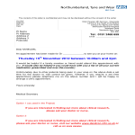 template topic preview image Hospital Appointment Letter Format