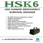 image HSK6 Survival Package