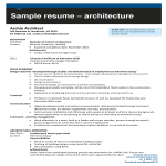 template topic preview image Architecture Internship