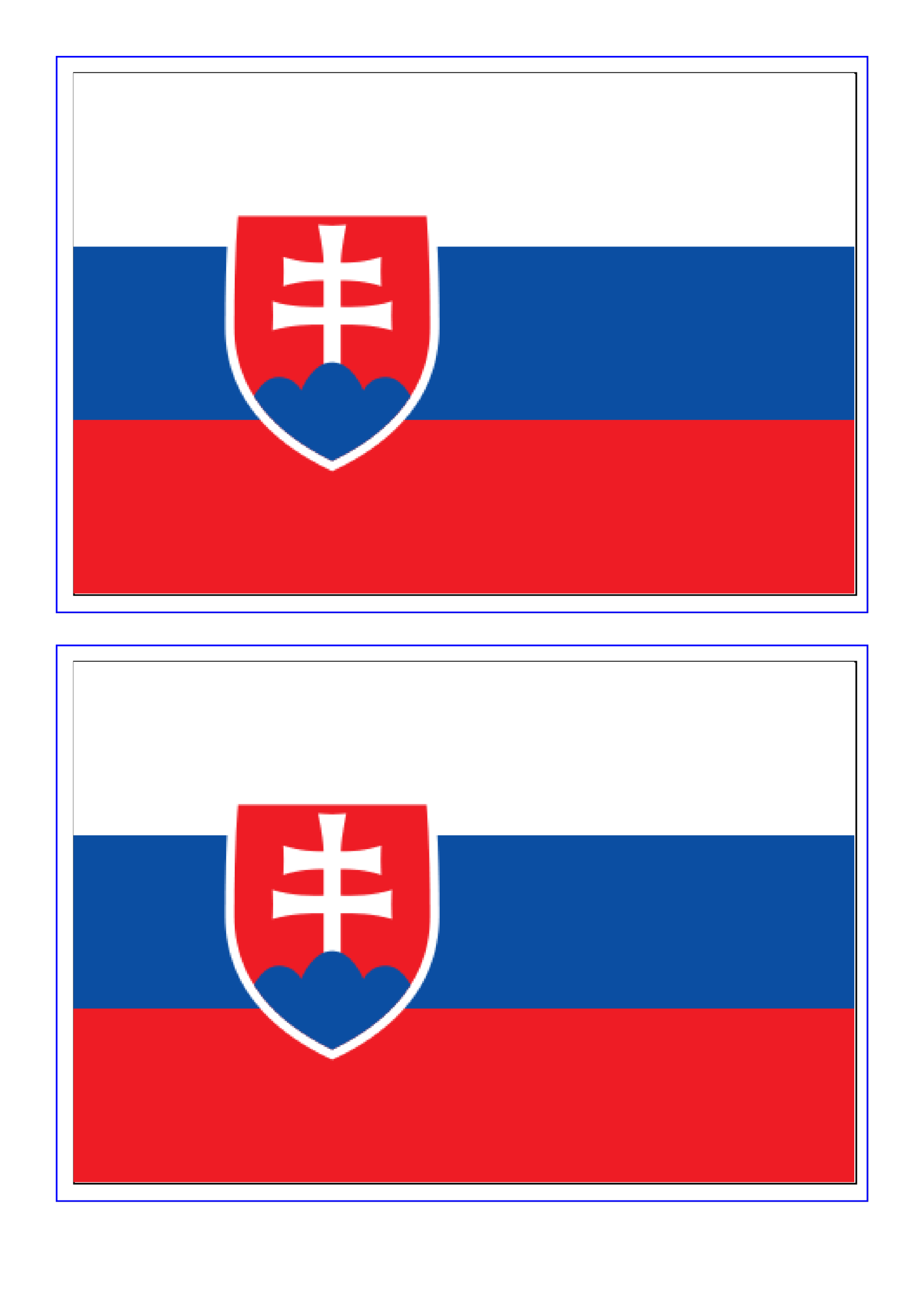 template preview imageSlovakia Flag