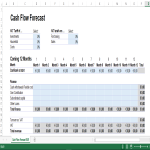 template topic preview image Cashflow Forecast in Excel Euro currency