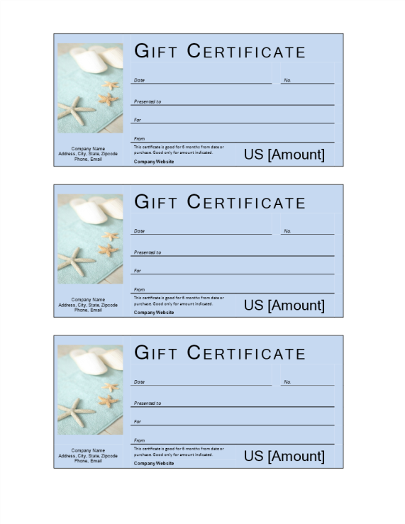 template preview imageSPA gift voucher with cash value