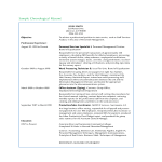 template topic preview image Office Assistant Chronological Resume