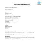 template topic preview image Separation Worksheet