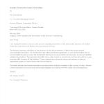 template topic preview image Sample Partnership Termination Letter