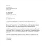 template topic preview image Standard 2 Week Resignation Letter