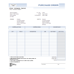 template topic preview image Purchase Order Invoice Excel template