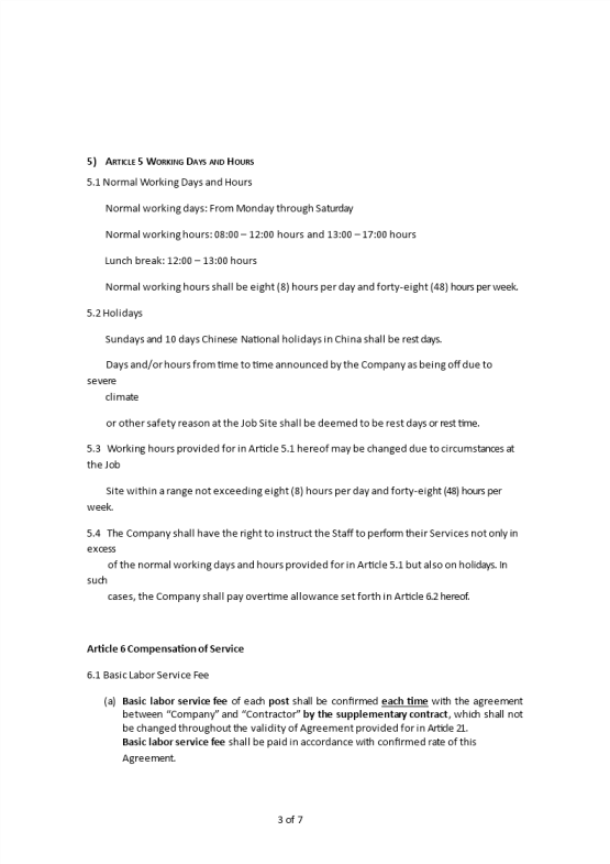 image Human Resource Outsourcing Agreement Template