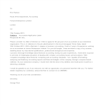 template topic preview image Accountant Job Application Letter
