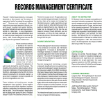 template topic preview image Records Management Training Certificate