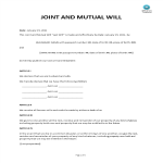 image Joint And Mutual Will