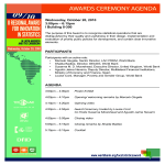 template topic preview image Ceremony Agenda